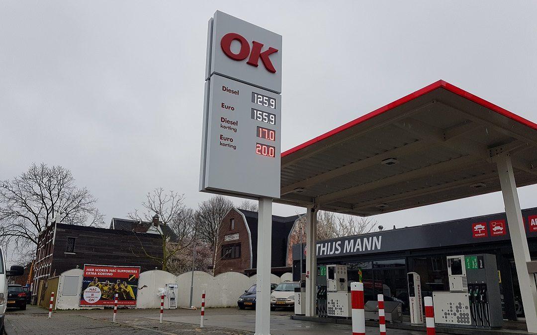 Tamoil Haagweg Breda wordt OK Express Haagweg