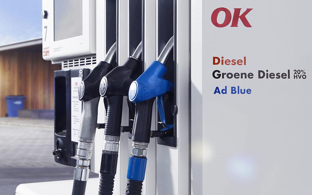 Nu ook Groene Diesel tanken bij OK