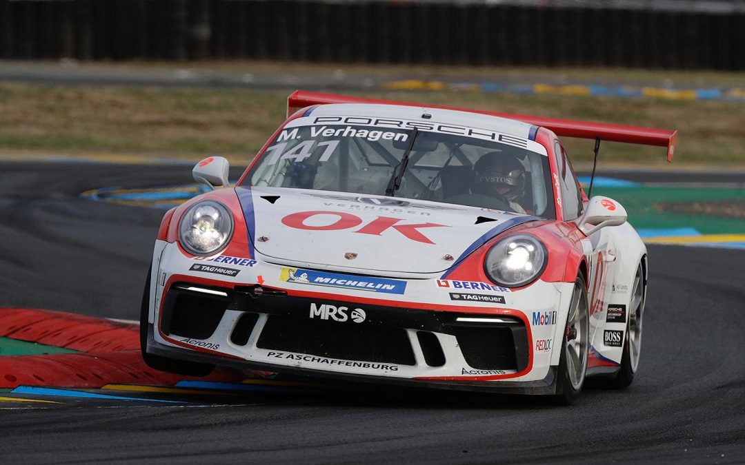 Michael Verhagen schittert in Le Mans