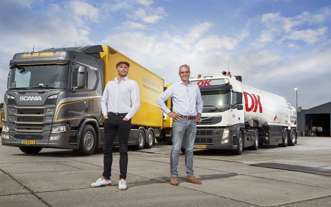 Transportbedrijf De Vries kiest voor OK X-Drive